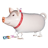 Walking Pet Balloon - Pig