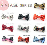Bow Tie [Vintage]: Suitable for all occasions: Wedding, Party, Formal occasions, Prom Night and Special Occasion
