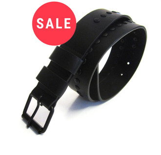 Men's Studded Black Belts - WAS £1.50   NOW £1.00