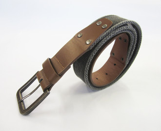 Men's Washed Canvas Belt - £1.00