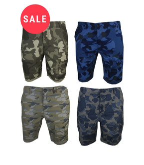 Ex Major High Street Men's Cargo Shorts - WAS £4.95   NOW £2.50