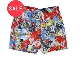 Ex Major High Street Mens Red  Swim Shorts -  WAS £3.00   NOW £1.50