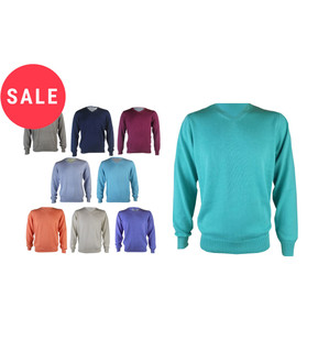 Ex M-S  Men's  V Neck Jumpers - WAS £4.95   NOW £4.00