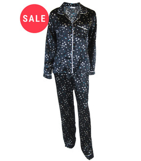 Ex M-S Ladies Satin Pyjama Set - WAS £5.75   NOW £3.50