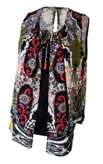 Ex Major High Street  Ladies Blouse with Cami Vest   - £3.25