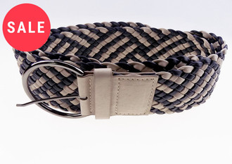 Ladies Wide Plaited  Belt - WAS £1.00   NOW £0.50