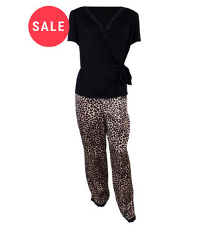 Ex M-S Ladies Animal Pyjama Set - WAS £5.75   NOW £4.00