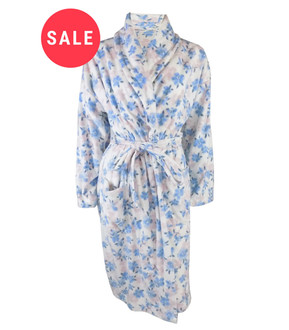 Ex Major High Street Ladies Cosy Dressing Gown - WAS £7.50   NOW £5.00