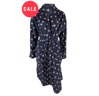 Ex Major High Street Ladies Dots Dressing Gown - WAS £7.50   NOW £5.00