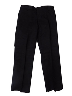 Ex Major High Street  Boys  Black School Trousers - £1.75