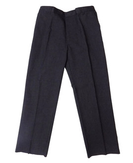 Ex Major High Street  Boys Charcoal School Trousers - £1.75