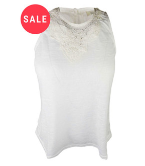 Ex Major Highstreet Ladies Sleeveless Crochet Top - WAS £2.75   NOW £1.50