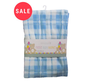 Childrens Fleece Blankets - WAS £1.50   NOW £0.75