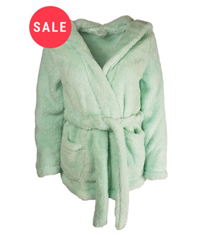 Ex Major Highstreet Ladies Short Hooded Dressing Gown - WAS £4.95   NOW £4.00