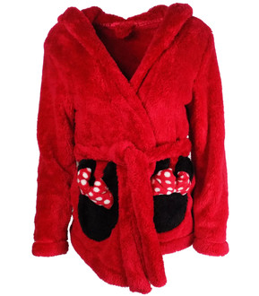 Ladies Disney Short Hooded Dressing Gown - £6.50