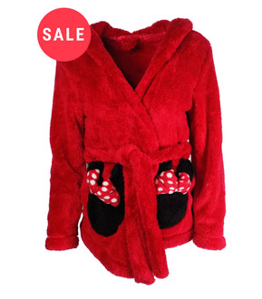 Ladies Disney Short Hooded Dressing Gown - WAS £6.50   NOW £4.00