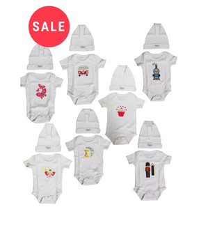 Baby Body & Hat Set - WAS £1.75   NOW £0.75