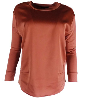 Ex Major Highstreet Ladies L/S Jersey Mix Top - £2.50