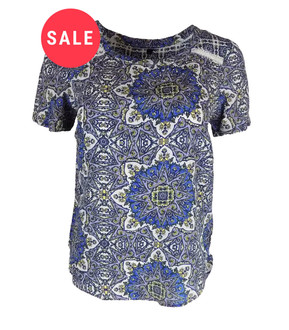 Ex M&C- Ladies Short Sleeve Top - WAS £3.95   NOW £2.50