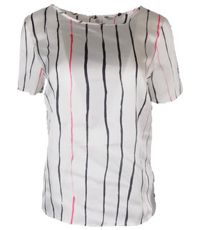 Ex N-xt Ladies Short Sleeve Striped Top - £3.95