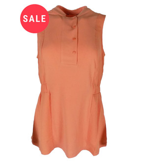 Ex N-xt Ladies Sleeveless Popper Front Top - WAS £2.95   NOW £2.00