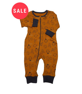 Ex Major Highstreet Cactus Romper Sleepsuit - WAS £1.50   NOW £0.75