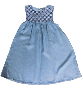 Ex N-xt Girls Denim Dress - £3.50