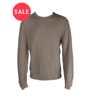 Ex As-s Mens Cable Crew Neck Jumper - WAS £3.95   NOW £2.50
