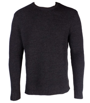 Ex As-s Mens Ribbed Crew Jumper - £3.95