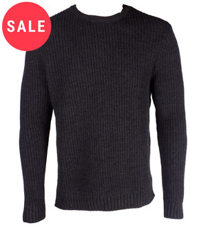 Ex As-s Mens Ribbed Crew Jumper - WAS £3.95   NOW £3.25