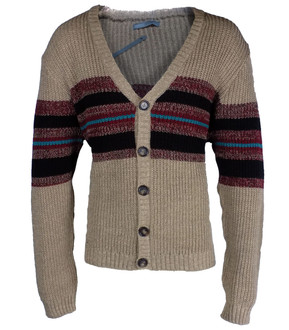 Ex As-s Mens Textured Cardigan- £3.95