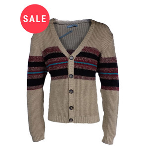 Ex As-s Mens Textured Cardigan- WAS £3.95   NOW £2.50
