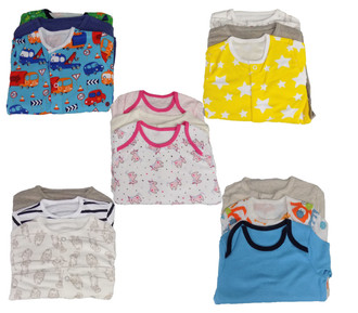 Ex Major HighStreet Baby 3 pack  Sleepsuits - £4.50