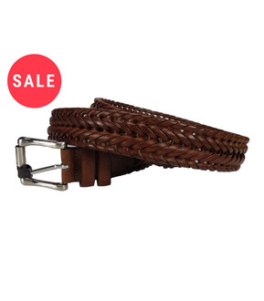 Men's  Plaited Belt  - WAS £1.50   NOW £1.00