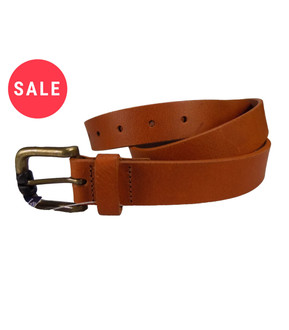 Men's Real Leather Belt  - WAS £1.50   NOW £1.00