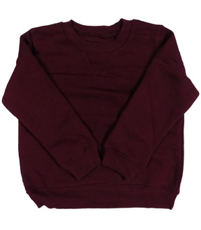 Ex Major Highstreet School Unisex Maroon Round Neck Jumper - £1.75