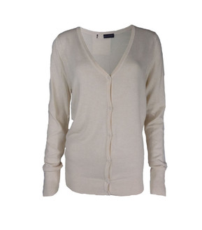 Ex M-S Ladies Cream Cardigan - £4.50