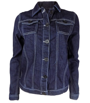 Ex Major High Street Girls Blue Denim Jacket - £3.50