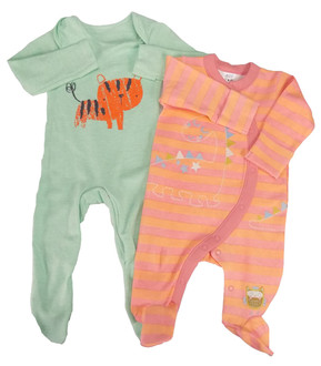 Ex Major High Street Baby Assorted Sleepsuits - £1.50