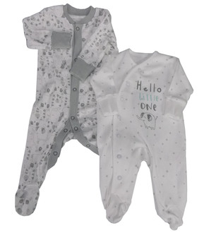 Ex Major High Street Baby Sleepsuit - £1.50