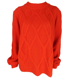 Ex M&C-  Ladies Cable Knit Jumper - £4.95