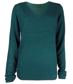 Ex M-S Ladies V Neck Jumper Assorted- £4.50