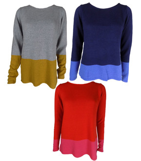 Ex Major High street Ladies Round Neck Jumper - £4.25
