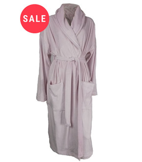 Ex Major Highstreet Ladies Super Soft Velour Dressing Gown - WAS £7.50   NOW £5.00