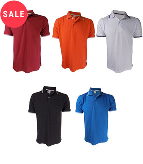 Ex Major High Street Men's  Polo T-shirt - WAS £2.50   NOW £1.50