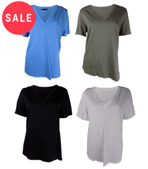 Ex Major High Street Ladies V-Neck Tops - WAS £1.50   NOW £0.90