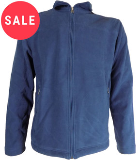 Ex Major High Street Mens Full Zip Fleece - WAS £4.95   NOW £3.95