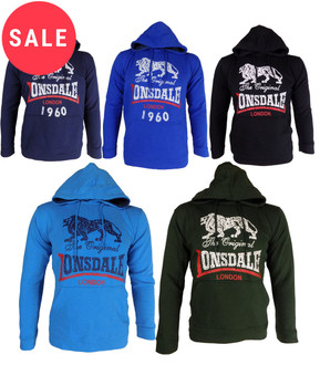 Ex Lonsdale Men's Sports Hoodie - WAS £4.50   NOW £3.50