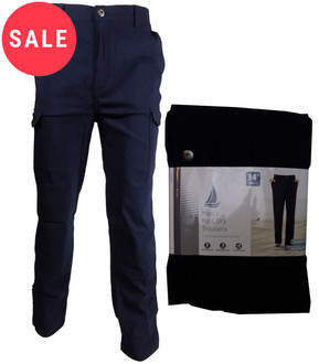 Ex Major High Street Mens Fast Dry Trouser - WAS £5.95   NOW £4.50