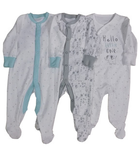 Ex Major High Street Baby Sleepsuit - £1.75